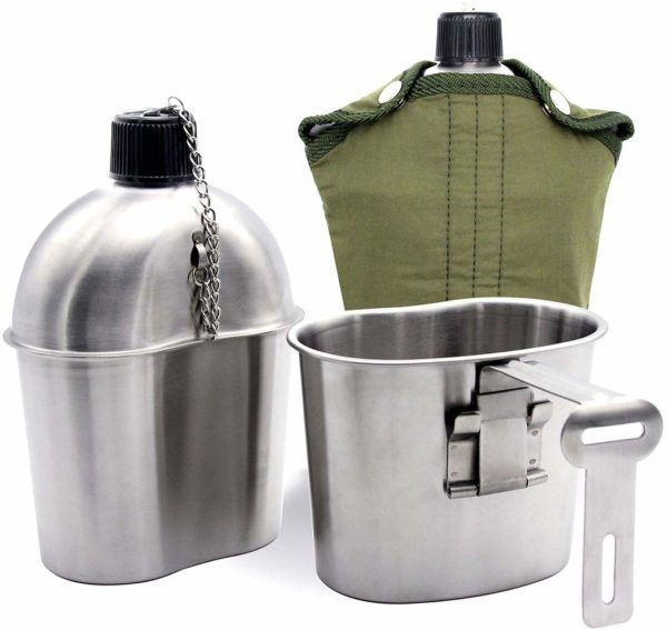 Canteen With Cup and Stove