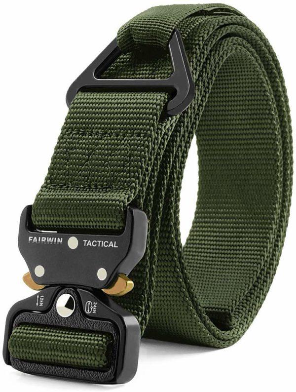 Fairwin Tactical Rigger Belt Green