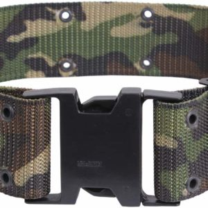 Rothco Marine Corps Quick Release Pistol Belt Woodland Camo