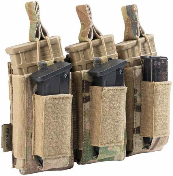 Triple AR Mag Pistol Mag Multicam