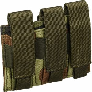 Voodoo Pistol Mag Pouch Woodland Camo